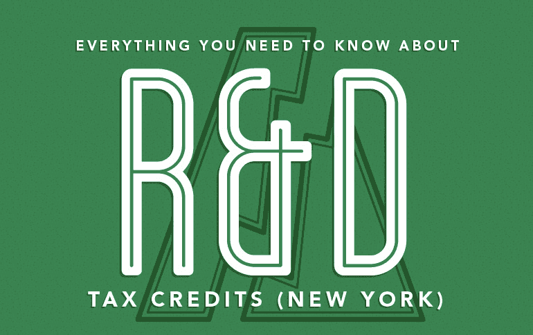 New York R&D Tax Credit